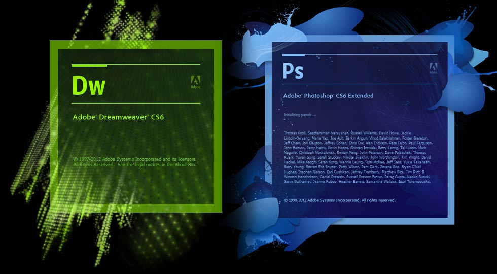 grafikerlik-eğitimi-konya-new-adobe-photoshop-dreamweaver-cs6-splash-screen