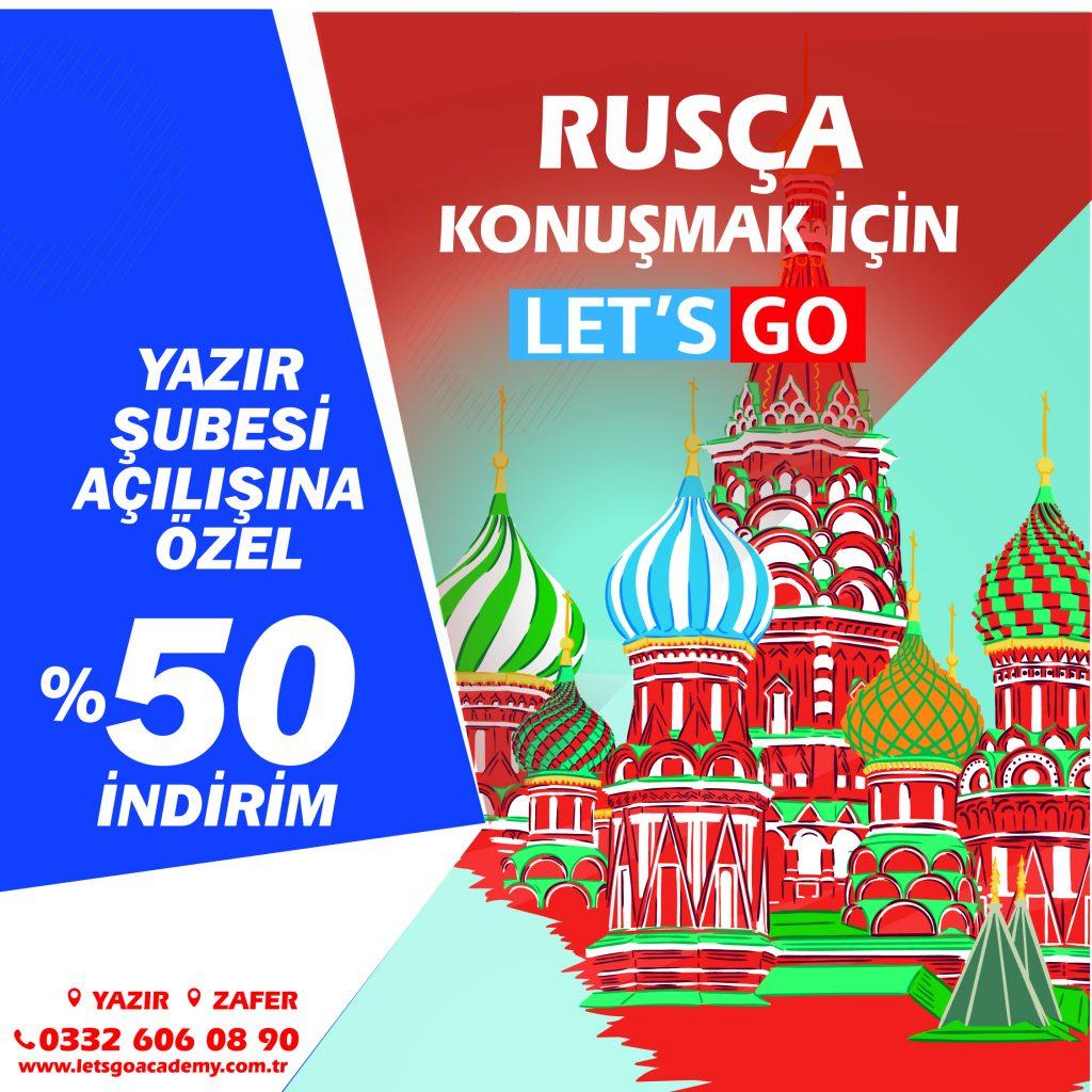 Rusça Kursu Konya